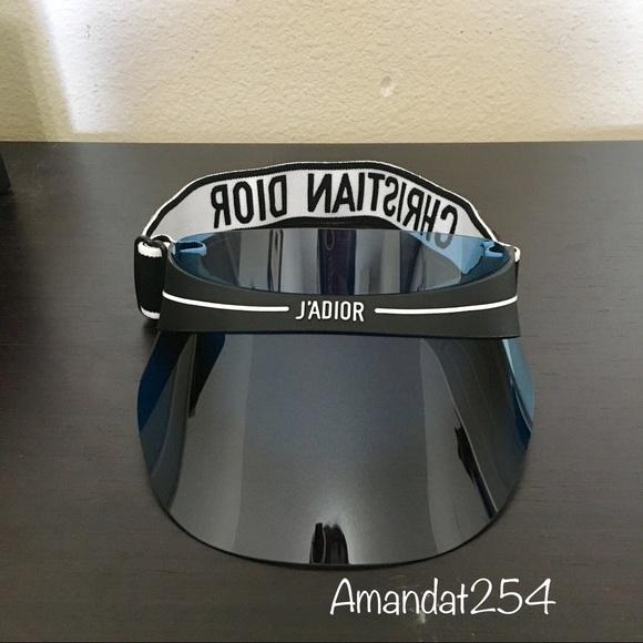 b304beb2791ca1 Dior Accessories | Blue Sun Visor | Poshmark